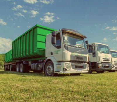 Solucion verde flota de camiones